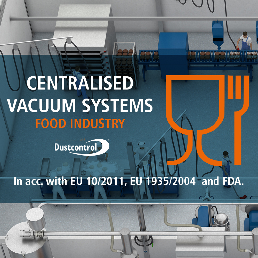 New - Centralised Vacuum Systems for Food Industry